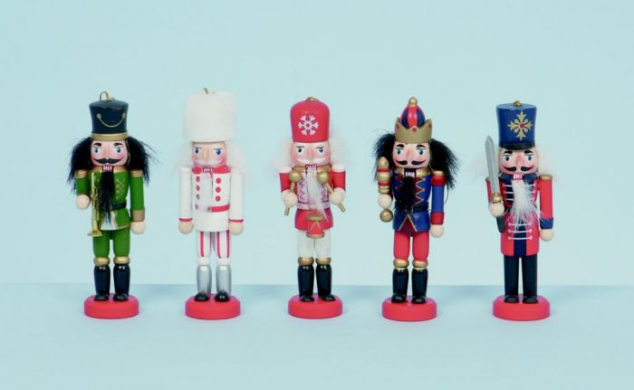 Wooden Nutcrackers Hanging Decoration