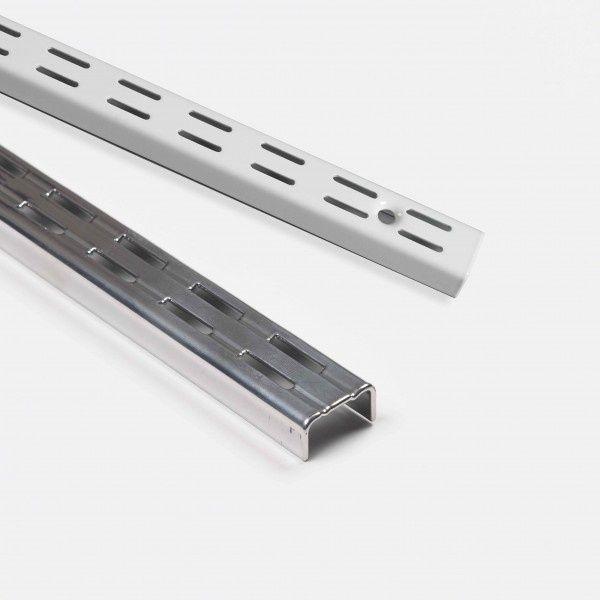 Rothley Krome Twin Slot Upright 2395Mm
