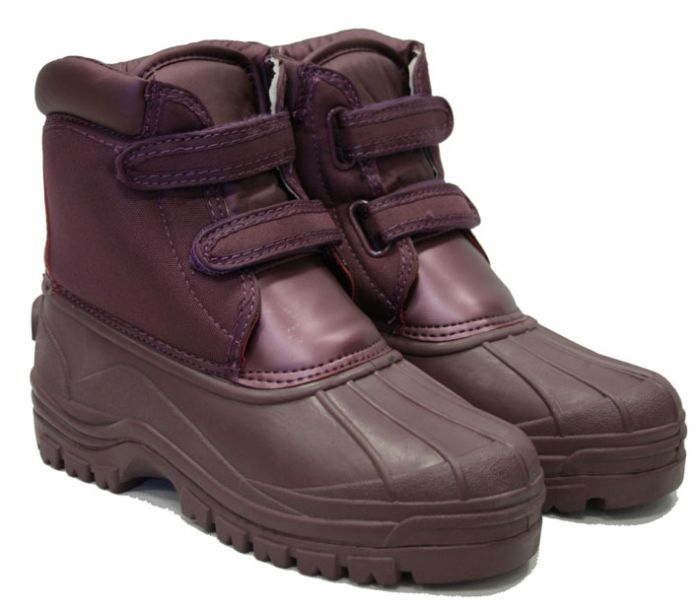 Town & Country Charnwood Aubergine Boots Size 8