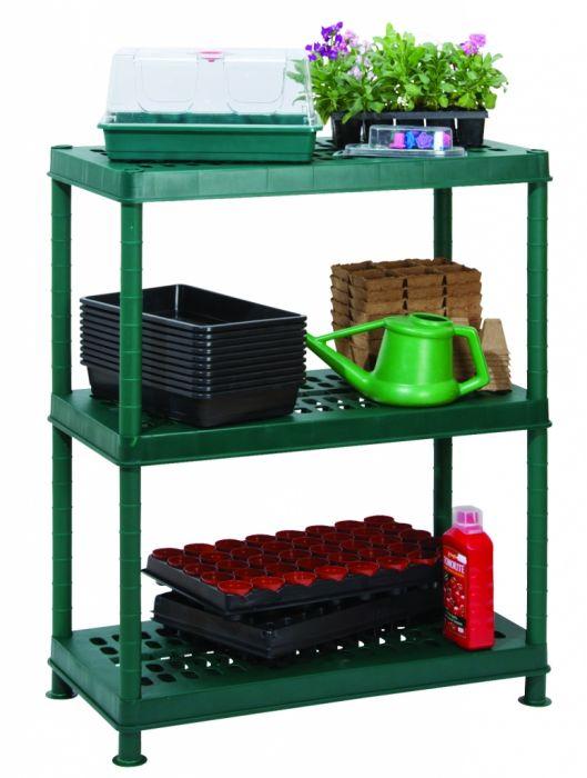 Garland Greenhouse 3 Shelf Unit Ventilated 80Cm