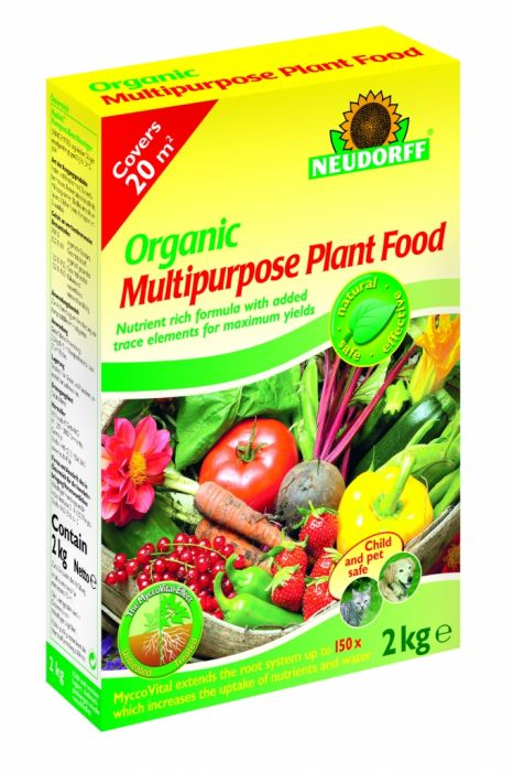 Neudorff Organic Multi Purpose Plant Food 2Kg