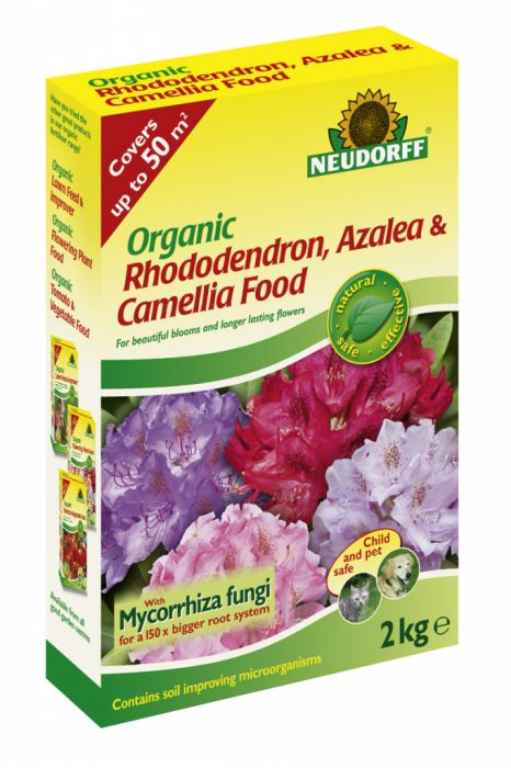 Neudorff Organic Rhododendron Azalea & Camellia Food 2Kg
