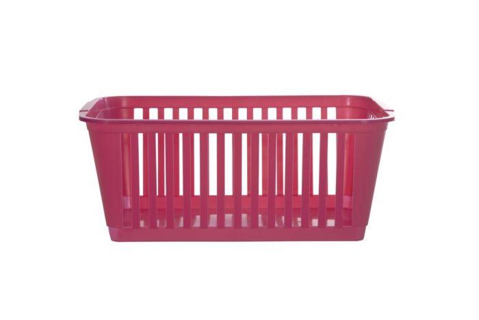 Whitefurze Handy Basket 25Cm Hot Pink