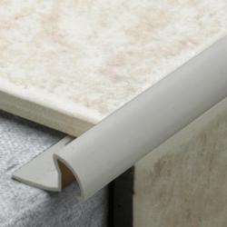 Tile Rite Grey Pvc Tile Trim 9.5Mm X 2.44M
