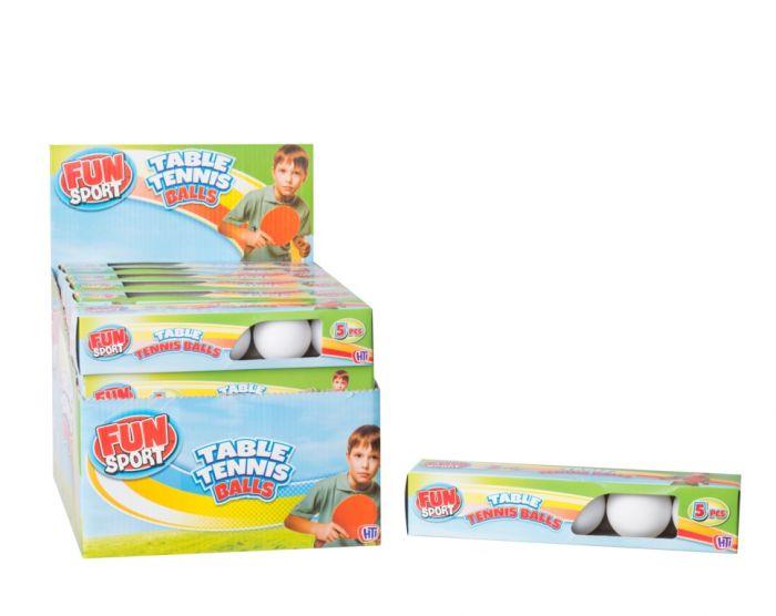 Fun Sport Table Tennis Balls Pack 5