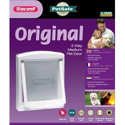 Petsafe Original 2 Way Medium Pet Door White