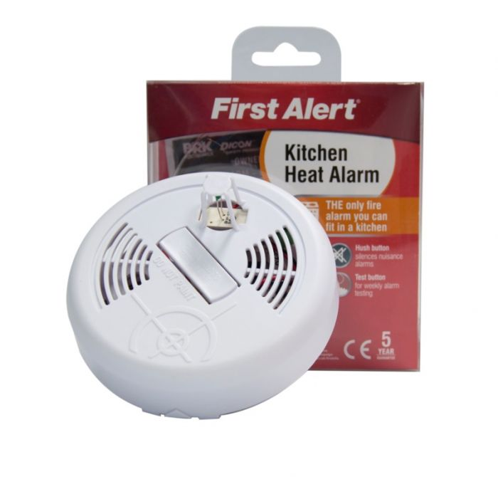 First Alert Kitchen Heat Alarm Battery Powered