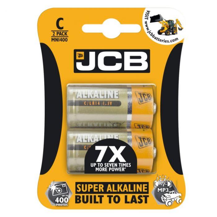 Jcb Super Alkaline C Cell Batteries Lr14