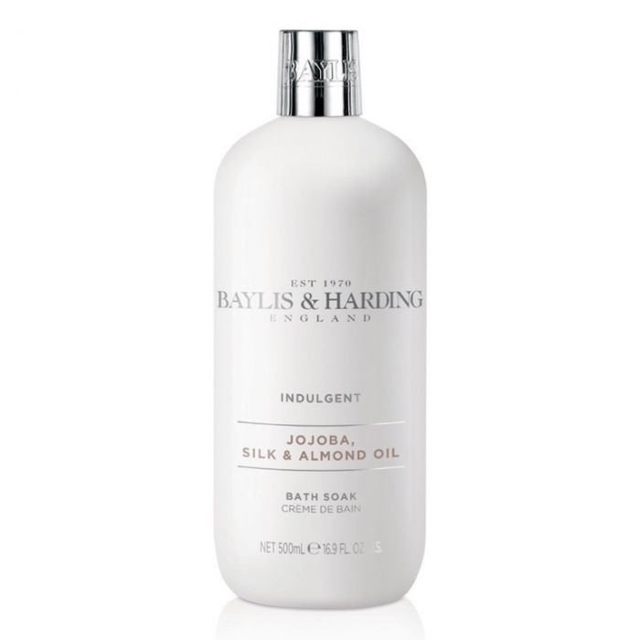 Baylis & Harding Moisturising Bath Soak 500Ml Jojoba Silk & Almond Oil