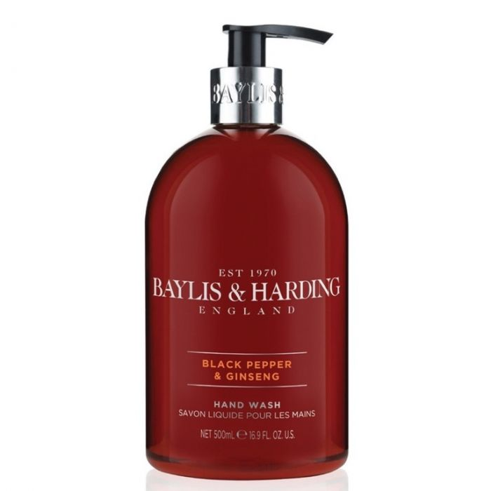 Baylis & Harding Hand Wash 500Ml Black Pepper & Ginseng