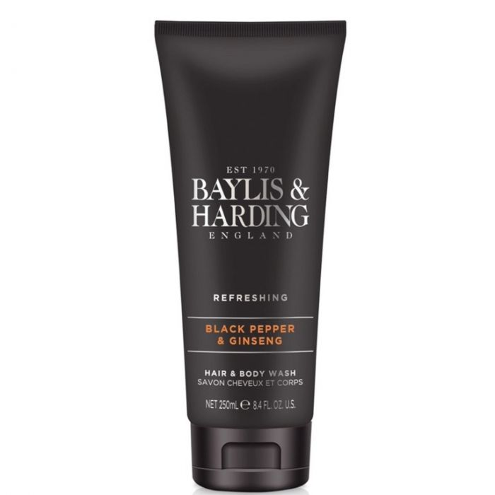 Baylis & Harding Hair & Body Wash 250Ml Black Pepper & Ginseng