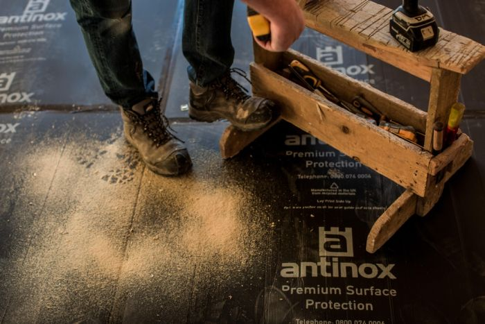 Antinox� Recycled Protection Boards 1.0M X 1.2M Black