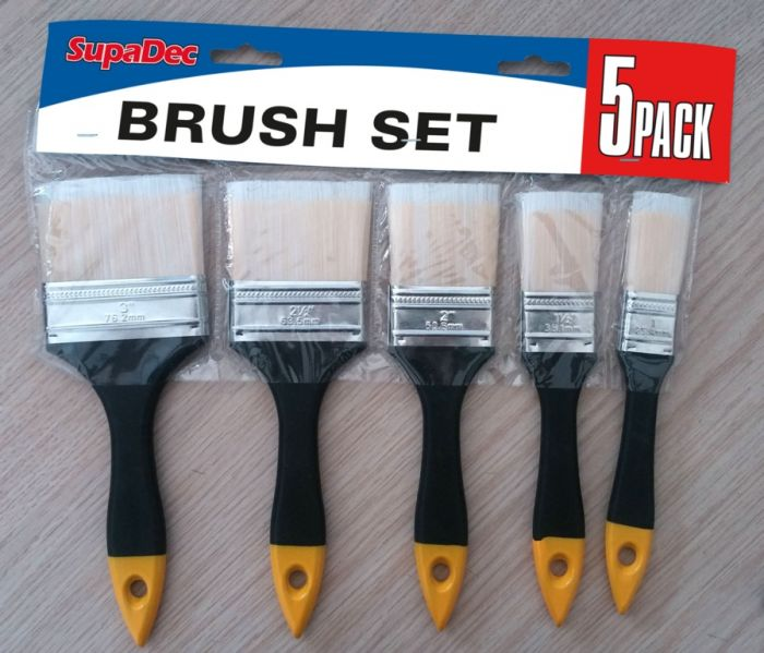 Supadec Brush Set 5 Piece