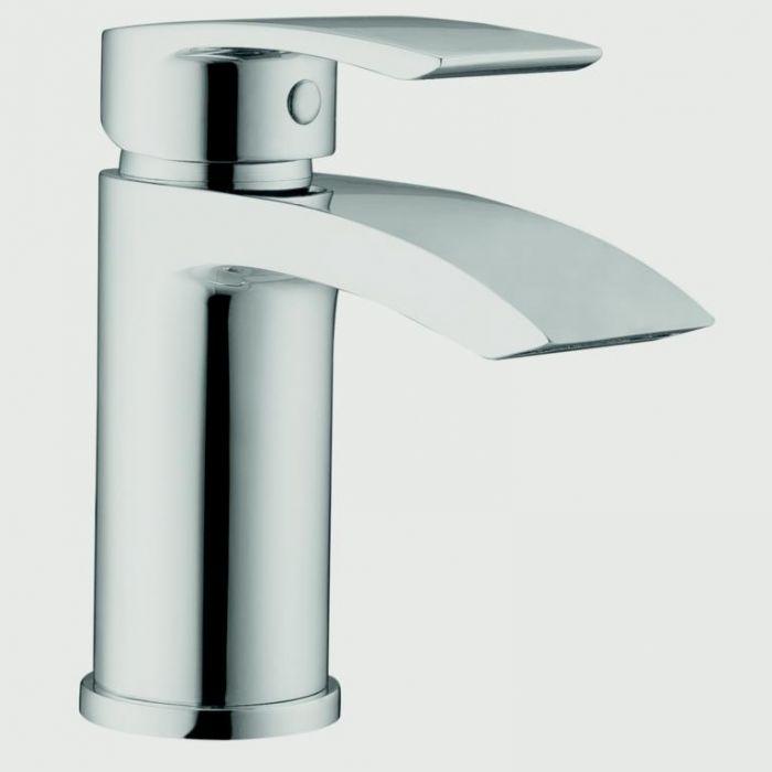 Sp Aero Curve Cloakroom Basin Mixer Tap H: 118Mm D: 80Mm