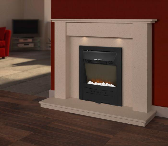 Supawarm Electric Stone Effect Fire 1800W