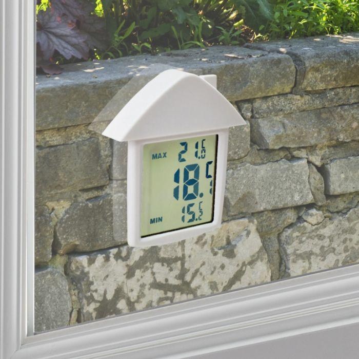 Ambassador Digital Window Thermometer