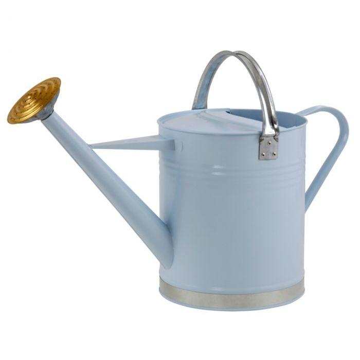 Ambassador Metal Watering Can Blue 2 Gallon
