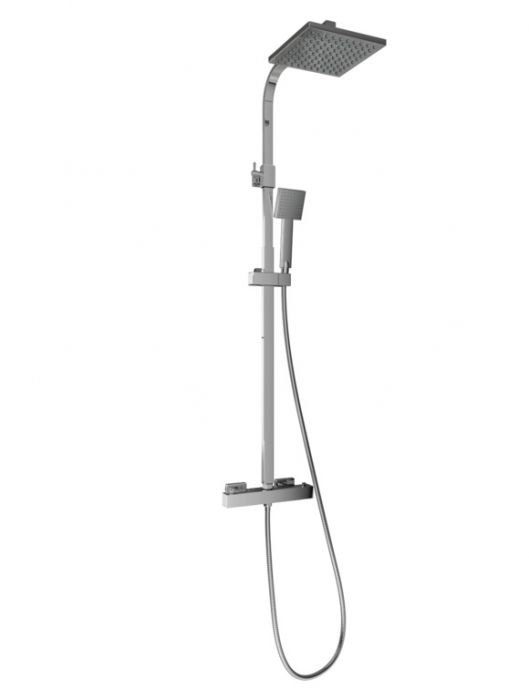 Sp Thermostatic Shower Mixer Square