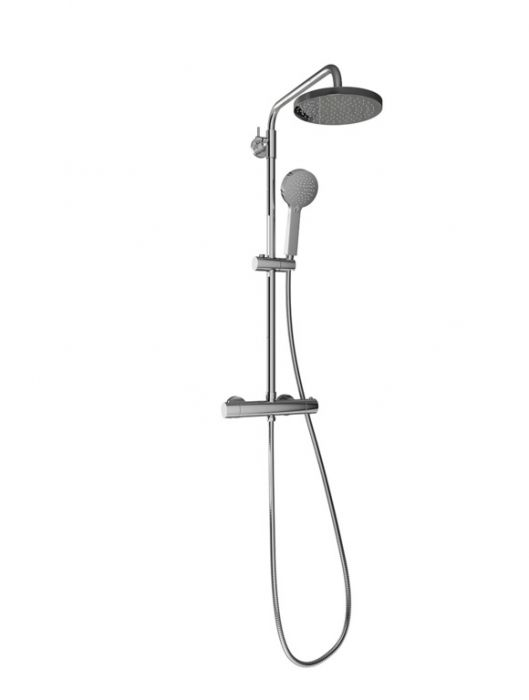 Sp Thermostatic Shower Mixer Round
