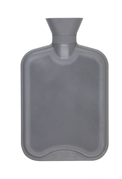Hearth And Home 2 Litre Hot Water Bottle Grey