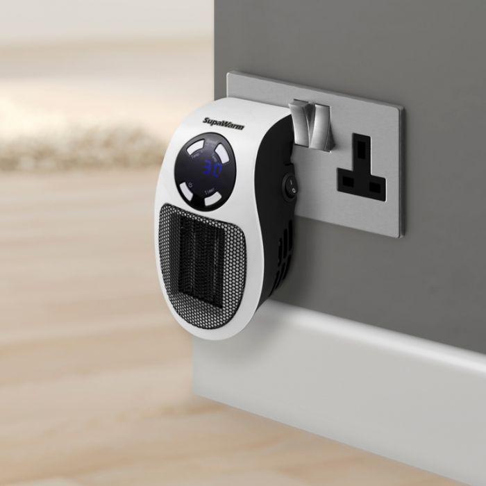 Supawarm Plug In Heater 500W