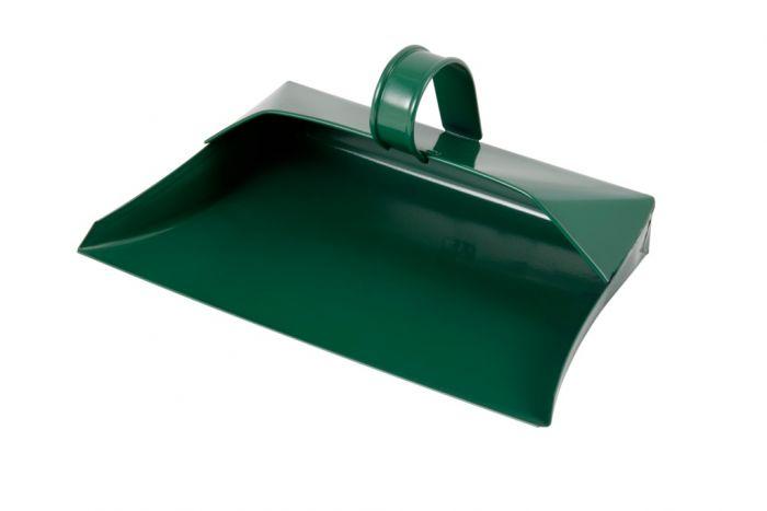 Groundsman Metal Dustpan Green