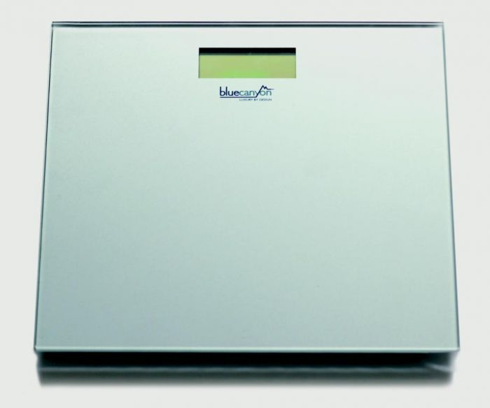 Blue Canyon S Series Digital Bathroom Scales Silver
