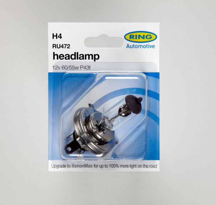 Ring H4 Headlamp