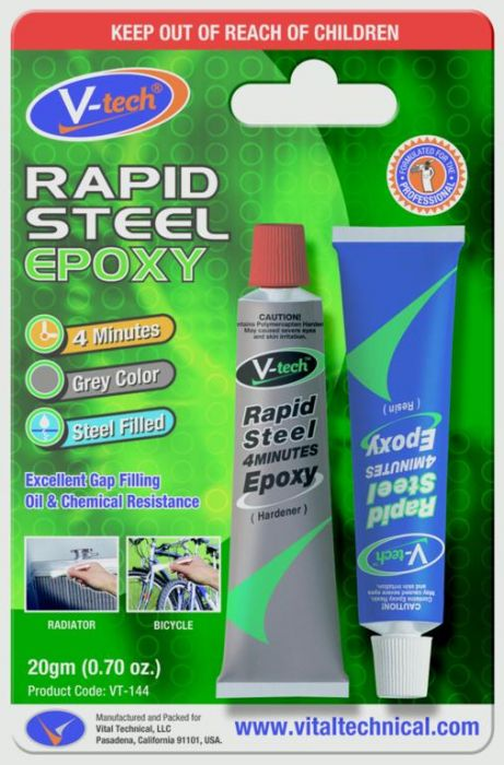 Streetwize Rapid Steel Mini Pack 20Gm