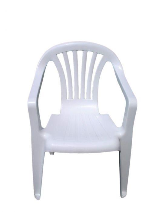 Supagarden Plastic Childs Chair White