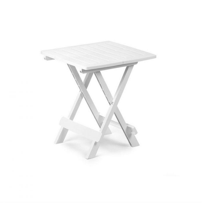 Supagarden Plastic Folding Camping Table White