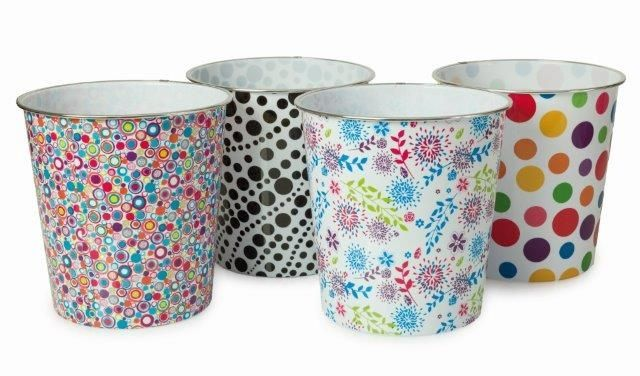 Blue Canyon Plastic Pattern Bins Round