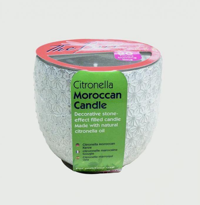 The Buzz Citronella Moroccan Candle