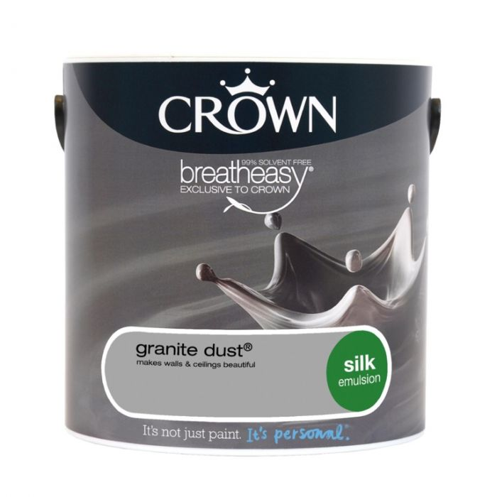 Crown Silk Emulsion 2.5L Granite Dust