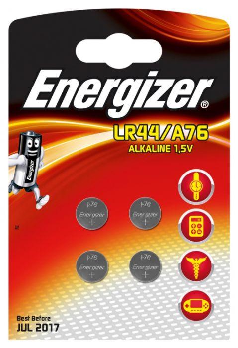 Eveready Energizer Lr44/A76 Alkaline Card