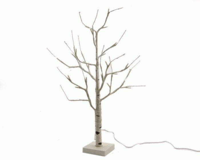 Led Birch Tree