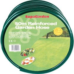 Supagarden Reinforced Garden Hose 50M