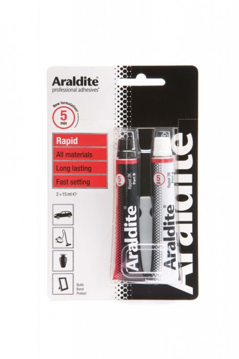 Araldite Rapid Tube 2 X 15Ml Tubes