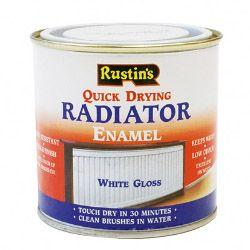 Rustins Qd Radiator Enamel Gloss 250Ml