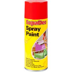 Supadec Spray Paint 400Ml Orange