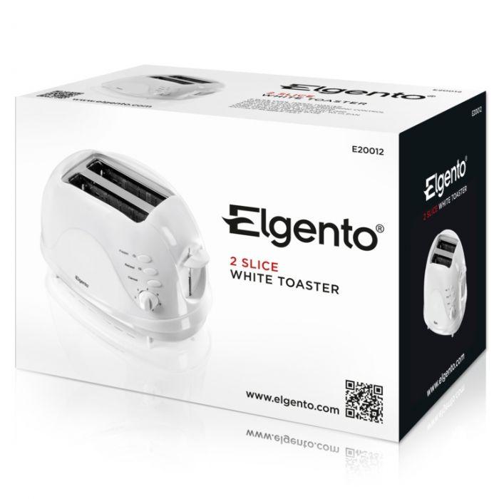 Elgento 2 Slice Toaster 700W