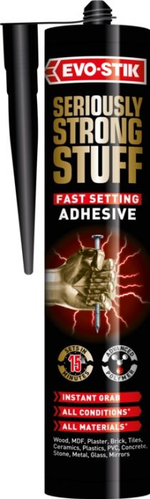 Evo-Stik Seriously Strong Stuff Fast Set Adhesive 290Ml