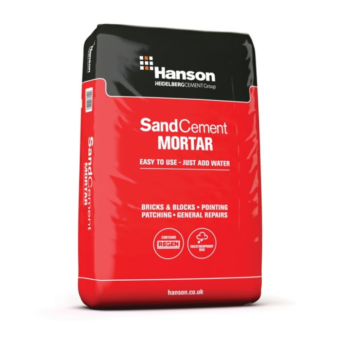 Hanson Sand & Cement Mortar Plastic Bag
