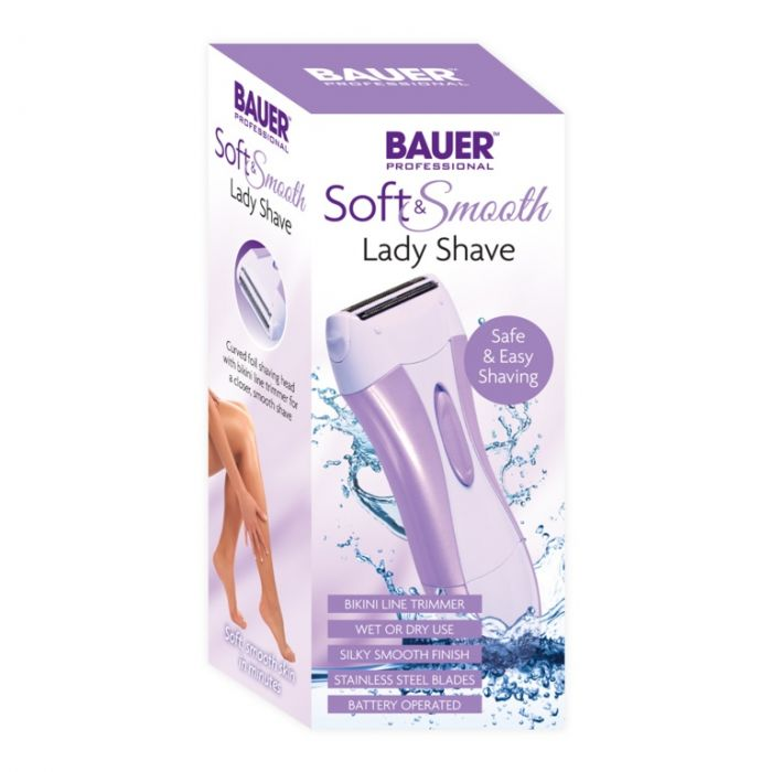 Bauer Soft And Smooth Lady Shave Battery Operated