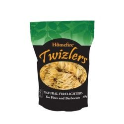 Homefire Twizlers Natural Firelighters 300G