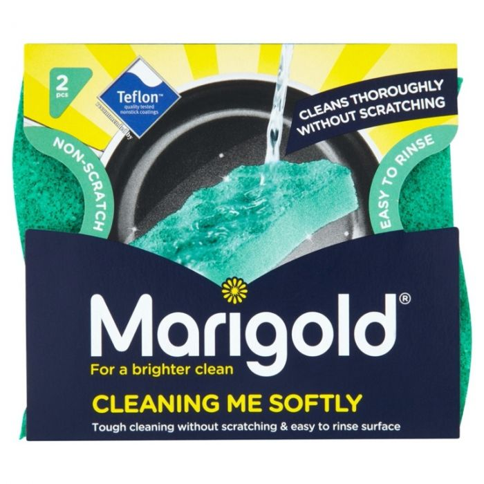 Marigold Cleaning Me Softly Non Scratch Scourer Pack 2