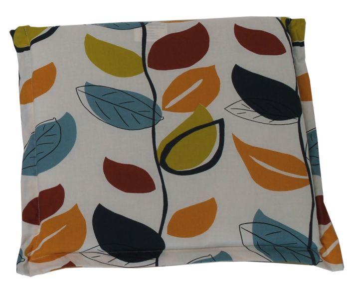 Culcita Seat Pad Cushion 5Cm Valance Autumn Leaf