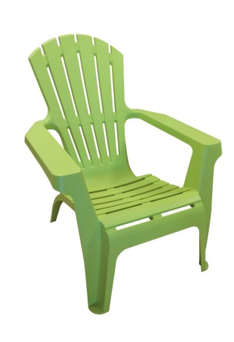 Supagarden Plastic Stackable Armchair Lime