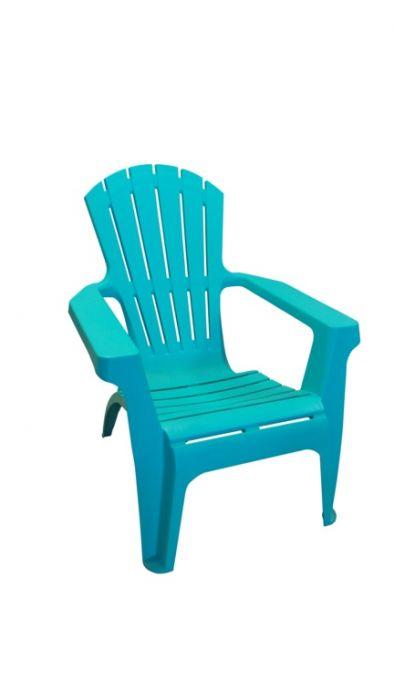 Supagarden Plastic Stackable Armchair Turquoise