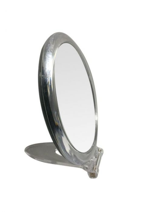 Blue Canyon Clear Mirror With Stand Round